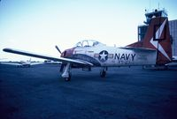 140029 @ KCRP - North American T-28B - by Mark Pasqualino