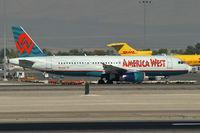N604AW @ KLAS - America West Airlines / 2000 Airbus Industrie A320-232