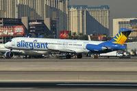 N863GA @ KLAS - Allegiant Air / McDonnell Douglas DC-9-83(MD-83) - by Brad Campbell