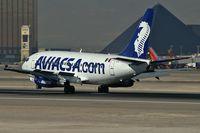 XA-NAK @ KLAS - Aviacsa Airlines / (1986) Boeing 737-219 (Adv)