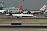 N912FJ @ KLAS - US Airways Express / 2004 Bombardier Inc CL600-2D24