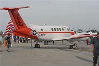 161193 @ BKL - UC-12B Huron U.S. Navy
