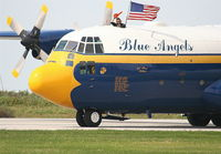 164763 @ BKL - Blue Angels C-130 Fat Albert U.S. Marines - by Florida Metal