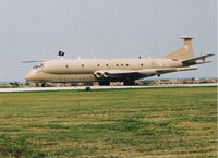 XV240 @ BKL - RAF Nimrod MR2 - thanks to Peter Nicholson for iding the plane