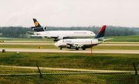 D-ALCN @ CVG - Lufthansa Cargo at CVG