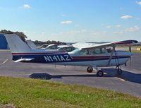 N141AZ @ 39N - Red, white, and blue Skyhawk heads a lineup at Princeton Airport. - by Daniel L. Berek