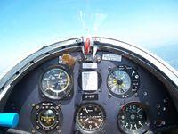 D-8767 - PIK 16c Vasama Insturment Panel, in flight - by Rudi Fehlhaber