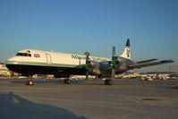 G-LOFC @ VIE - Atlantic Airlines Lockheed Electra