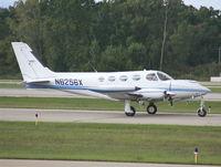 N6256X @ PTK - Cessna 340A