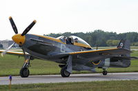 CF-VPM @ YIP - P-51 RAF colors