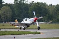 N1451D @ YIP - Mustang