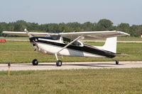 N20550 @ YIP - Classic Cessna
