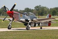 N51VF @ YIP - P-51 Mustang