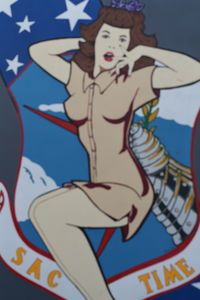 61-0029 @ DAY - Nose art on B-52