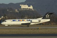 OE-LFG @ SZG - Tyrolean Airways Fokker 70 in Star Alliance colors