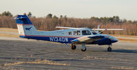 N134DW @ KASH - The Daniel Webster College twin trainer - by Nick Michaud