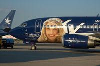 OM-SEG @ VIE - Sky Europe Boeing 737-500 in special colors