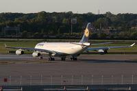 D-AIFD @ DTW - Lufthansa