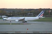 F-GZCJ @ DTW - Air France