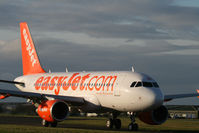 HB-JZN @ BOH - A319 EASYJET - by barry quince