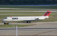 N764NC @ DTW - Northwest DC-9