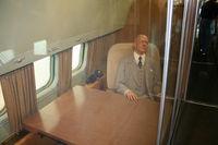 53-7885 @ FFO - Ike inside his plane