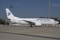 OM-AAE @ BTS - Slovak Airlines Boeing 737-300