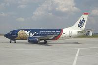 OM-SEA @ BTS - Sky Europe Boeing 737-500