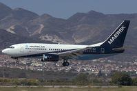 OY-MLY @ AGP - Maersk Air Boeing 737-700
