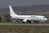 PH-HZL @ AGP - Transavia Boeing 737-800