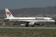 PH-MPD @ AGP - Martinair Airbus 320