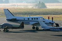 N702DK @ FCI - King Air N702DK - by Chris England