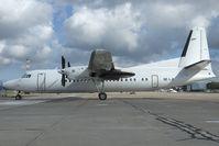 SE-LJI @ RIX - Air Baltic Fokker 50
