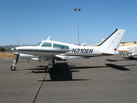 N310ER @ PRB - Sunny shot of 1966 Cessna 310K @ Paso Robles Municipal Airport, CA