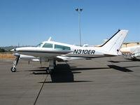 N310ER @ PRB - Sunny shot of 1966 Cessna 310K @ Paso Robles Municipal Airport, CA