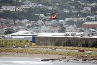 ZK-ENT @ WLG - Climbing out of Wellington - by Micha Lueck