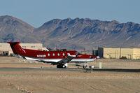 N292P @ VGT - Steelman Aviation - Las Vegas, Nevada / 2005 Pilatus PC-12/45