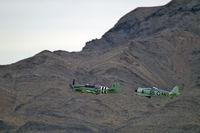N518WB @ KLSV - Edward G. Kurdziel - Del Mar, California / 1950 Fairey Aviation Ltd FIREFLY AS-6 / Aviation Nation 2006