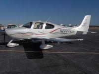 N2000C @ ACK - N2000C - 2000th SR22 with Custom Pearl Paint and Custom Stripes - by Scott Prinz