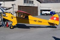 HB-ONH @ SMV - Piper J-2 - by Andy Graf-VAP