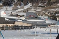 J-1169 @ SMV - Swiss Air Force DH-100 Vampire - by Andy Graf-VAP