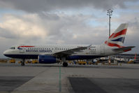 G-EUPD @ VIE - British Airways Airbus 319