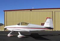 N132RD @ FTG - RV7a Home built aircraft. - by Lou  Lomheim