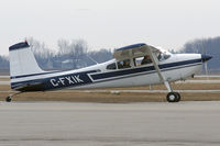 C-FXIK @ YXU - Arriving onto Ramp 3 - by topgun3