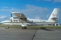 TY-BBS @ LBG - Transports Aeriens du Benin Dash 6 Twin Otter