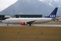 LN-RPL @ SZG - Scandinavian Airlines SAS B737-800 - by Thomas Ramgraber-VAP