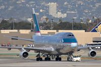 B-HUS @ LAX - Cathay Pacific Cargo B-HUS being towed through the alley enroute to the cargo terminal. - by Dean Heald