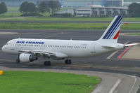 F-GFKD @ AMS - Air France A320 (very rare to see an -100 version)