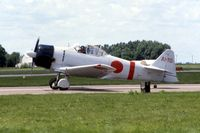N11171 @ DVN - At the Quad Cities Airshow, AT-6B 41-17422 - by Glenn E. Chatfield