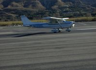 N1398E @ SZP - 1978 Cessna 172N, Lycoming O-320-H2AD 160 Hp, turn off Rwy 22 after landing - by Doug Robertson